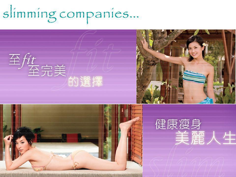 Media slimming companies…