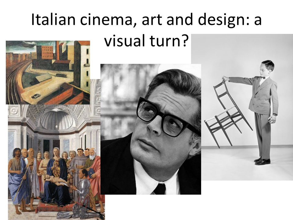 Italian cinema, art and design: a visual turn