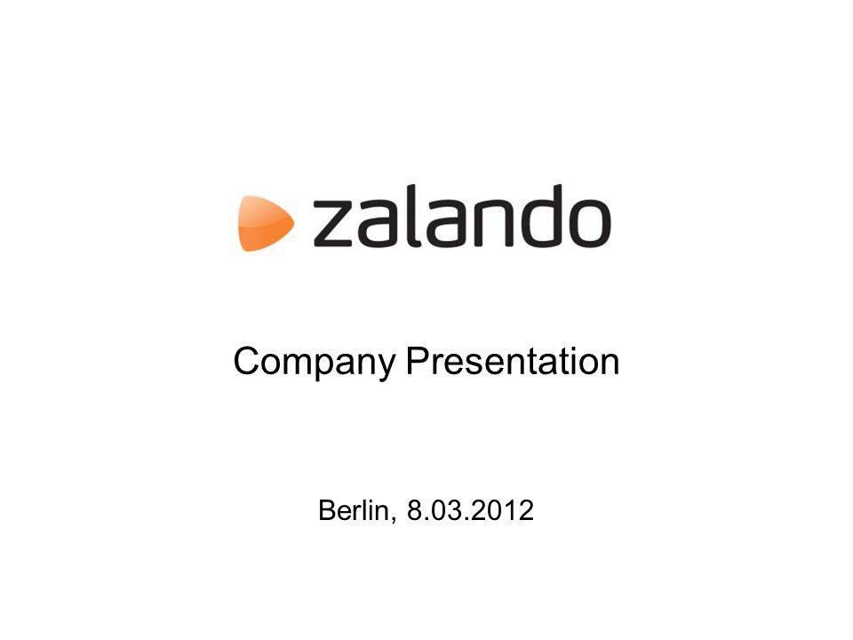 Company Presentation Berlin, 8.03.2012