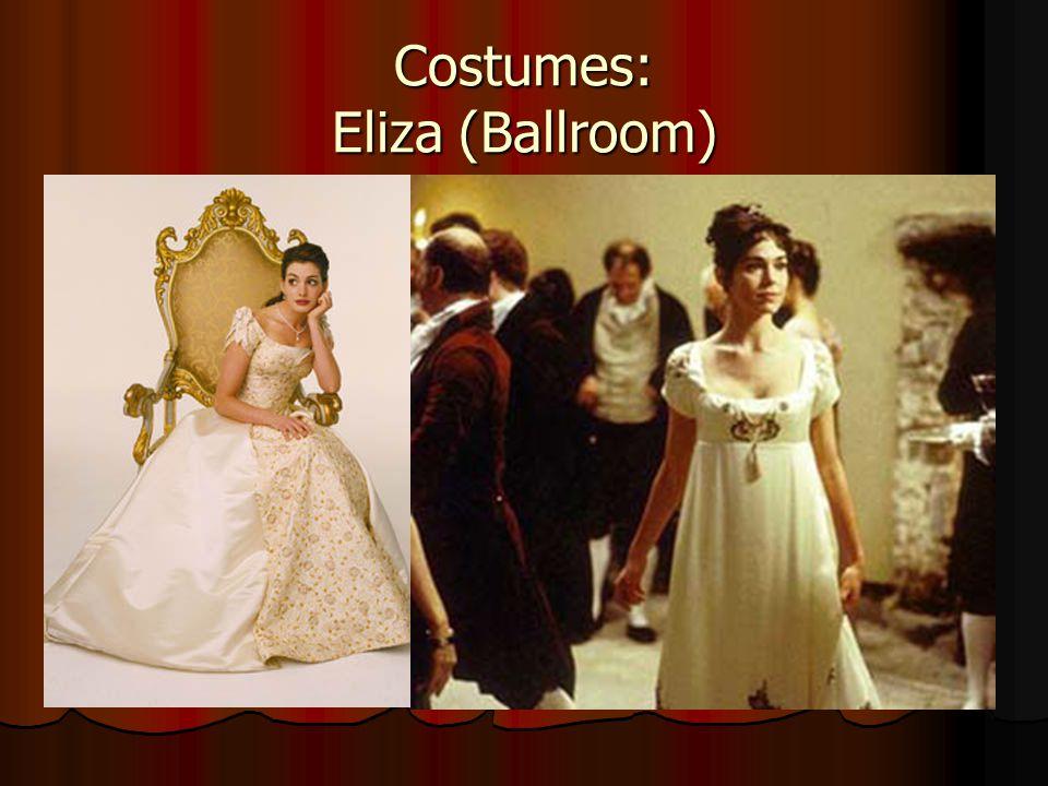 Costumes: Eliza (Ballroom)