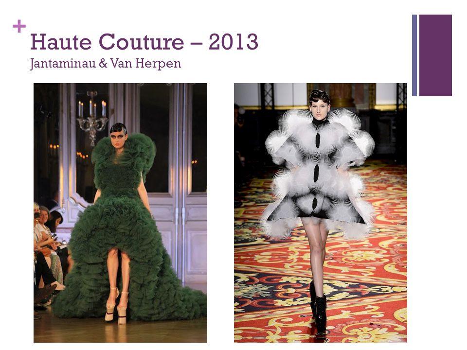 + Haute Couture – 2013 Jantaminau & Van Herpen