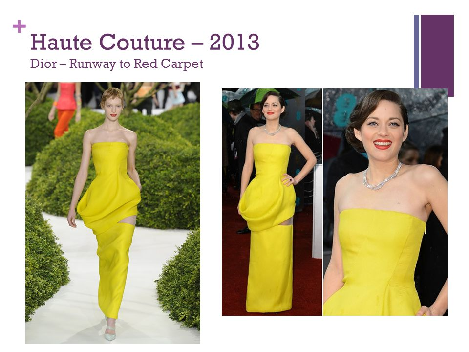 + Haute Couture – 2013 Dior – Runway to Red Carpet