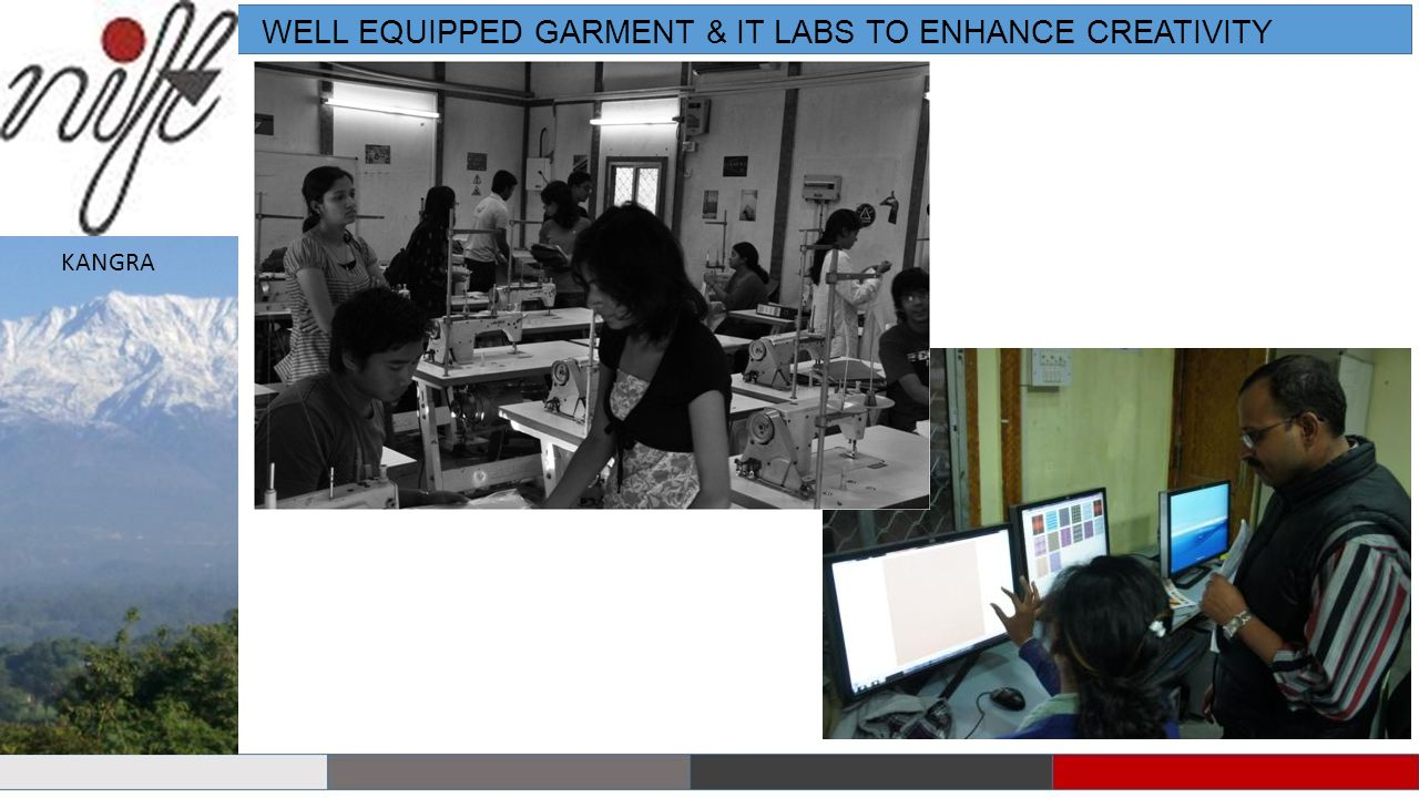 WELL EQUIPPED GARMENT & IT LABS TO ENHANCE CREATIVITY KANGRA