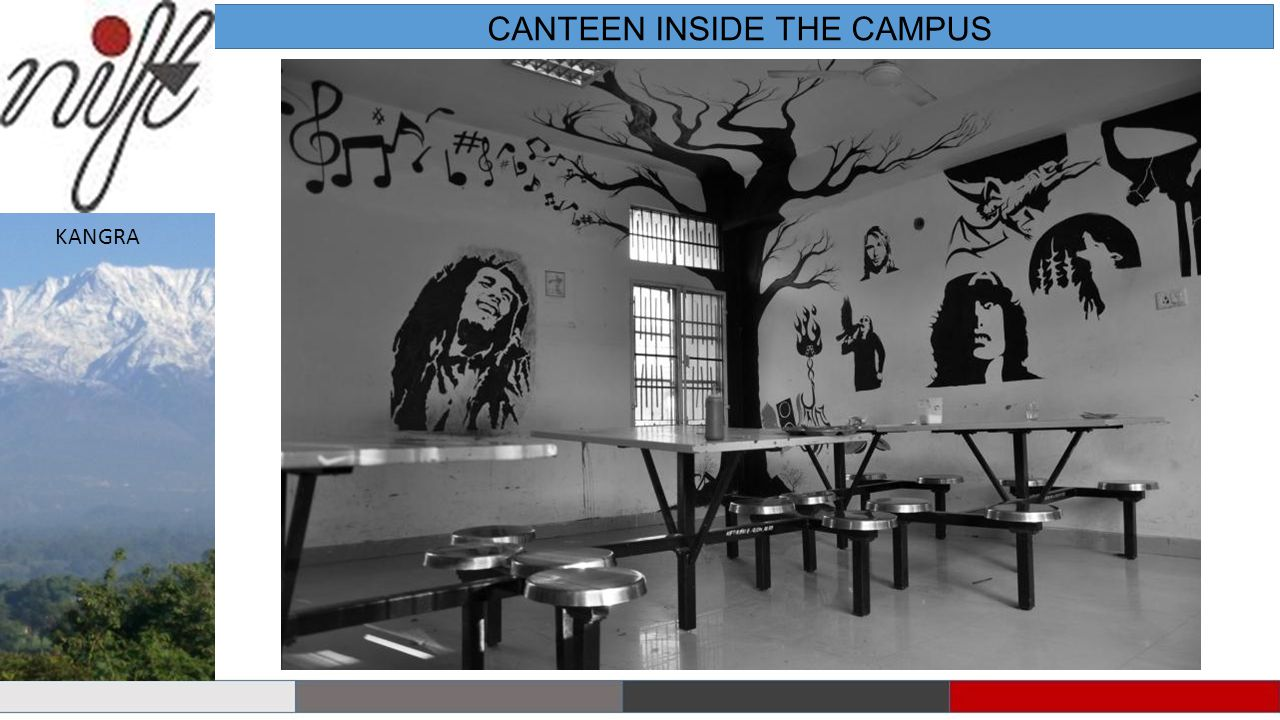 CANTEEN INSIDE THE CAMPUS KANGRA