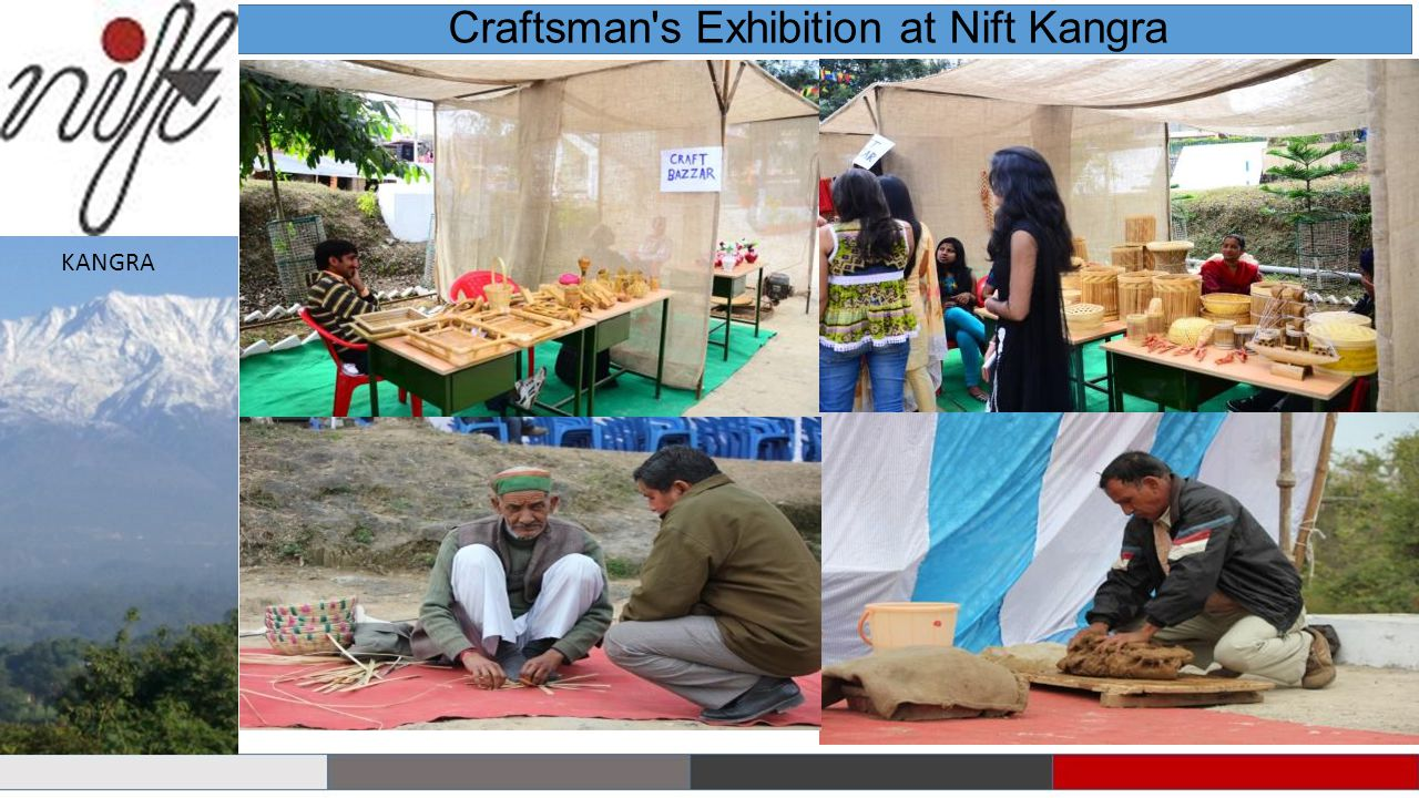 Craftsman s Exhibition at Nift Kangra KANGRA