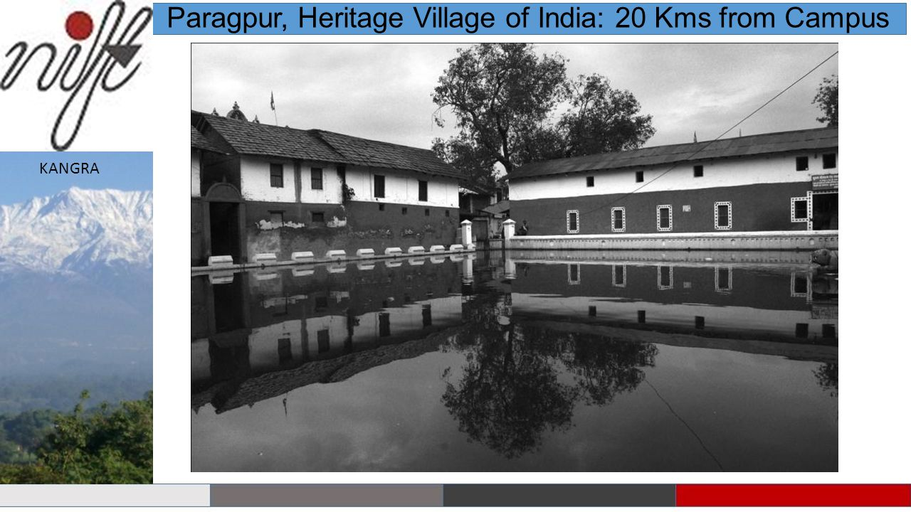 Paragpur, Heritage Village of India: 20 Kms from Campus KANGRA