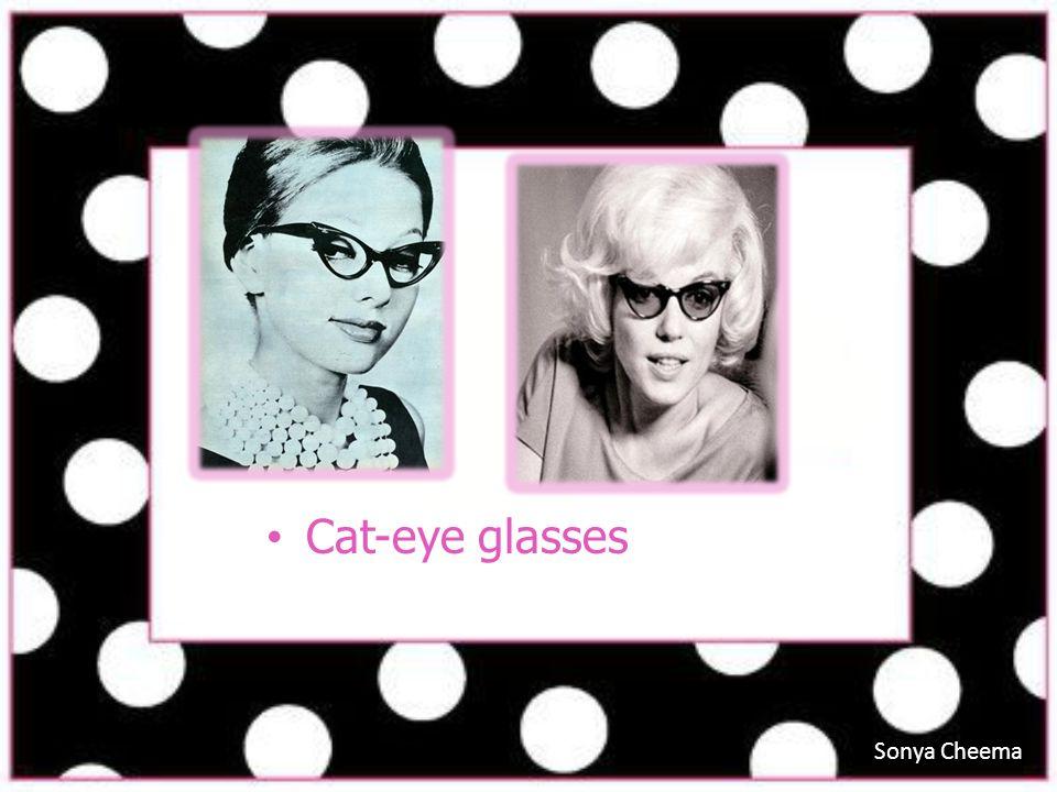 Cat-eye glasses Sonya Cheema