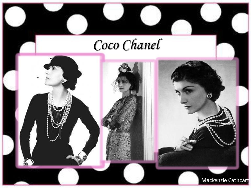 Coco Chanel Mackenzie Cathcart