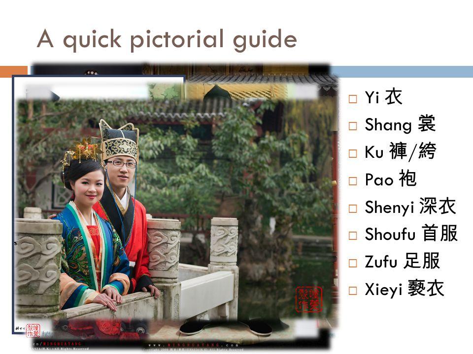 A quick pictorial guide Yi Shang Ku / Pao Shenyi Shoufu Zufu Xieyi