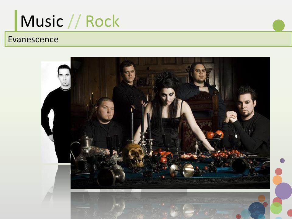 Music // Rock Evanescence