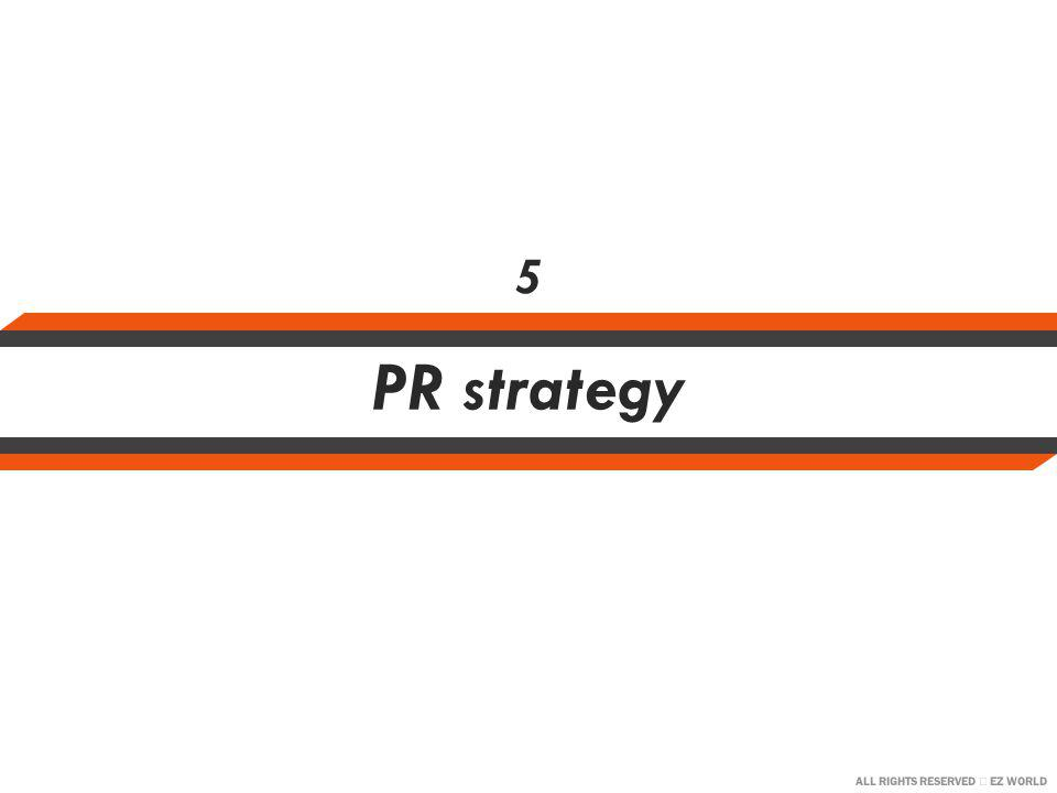 ALL RIGHTS RESERVED EZ WORLD PR strategy 5