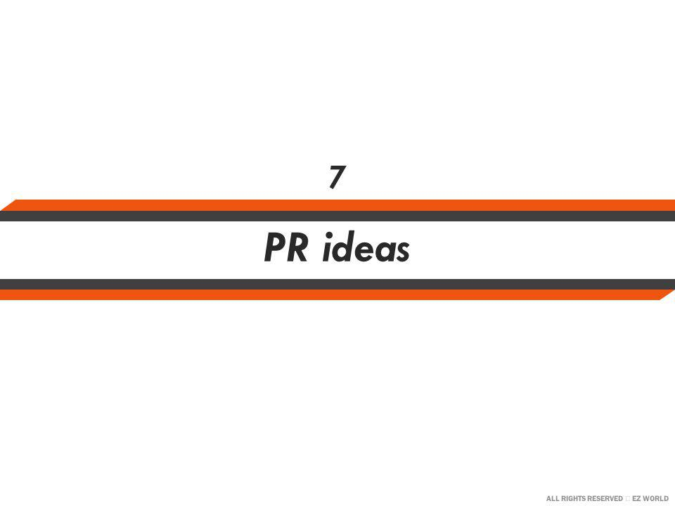 ALL RIGHTS RESERVED EZ WORLD PR ideas 7