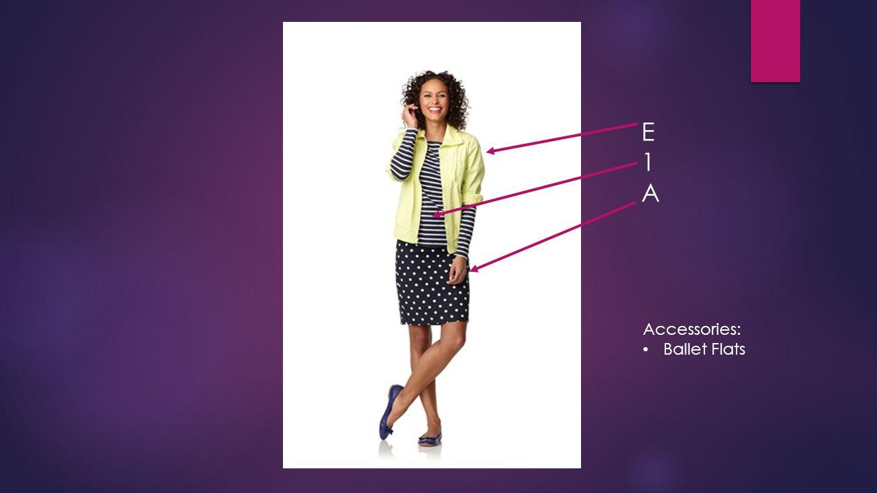 E1AE1A Accessories: Ballet Flats