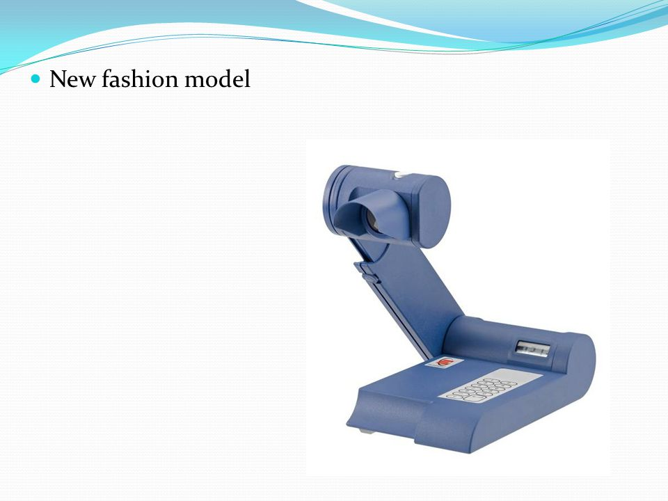 New fashion model