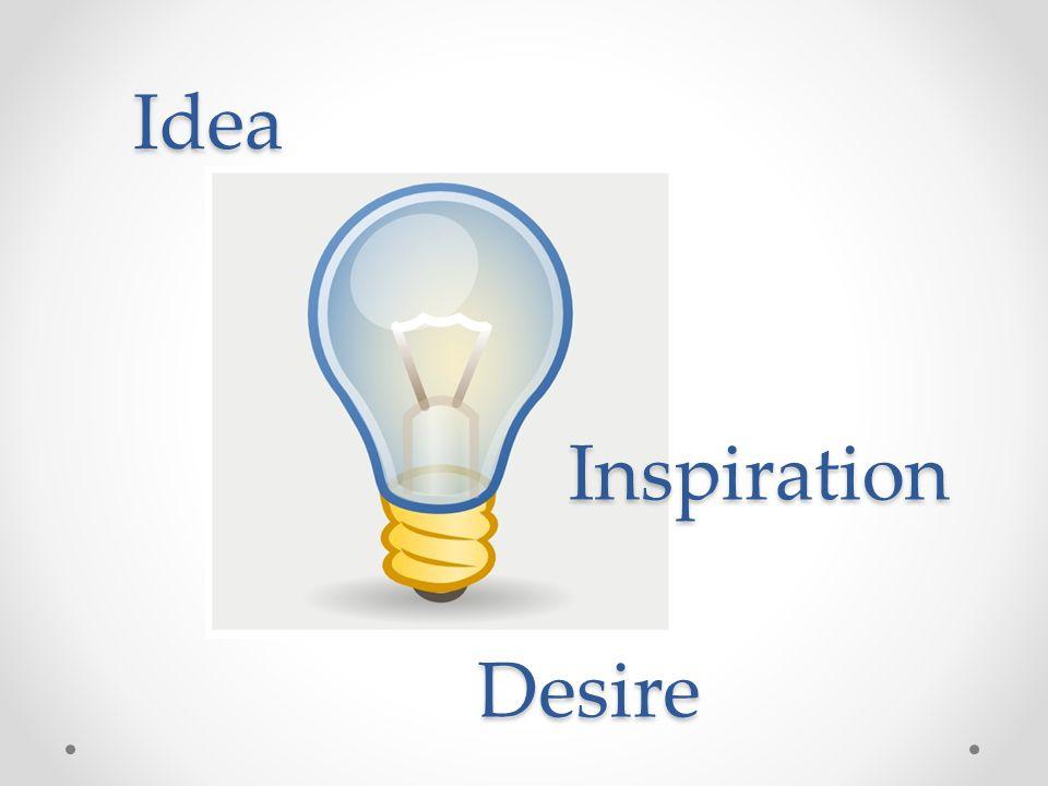 Desire Inspiration Idea