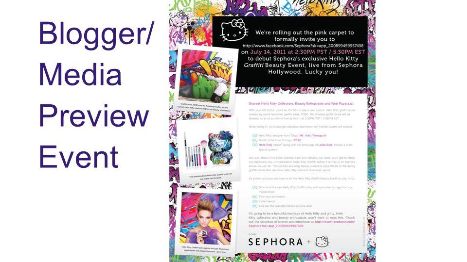 Blogger/ Media Preview Event