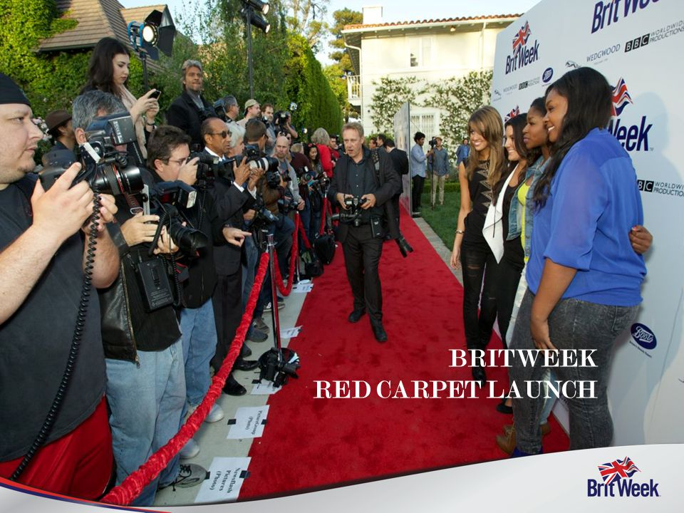 BRITWEEK RED CARPET LAUNCH