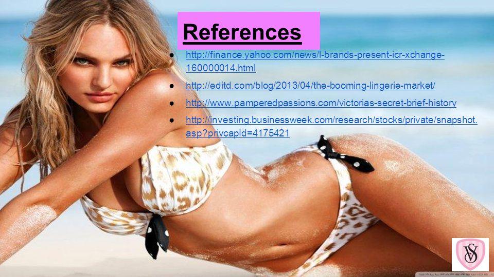 References http://finance.yahoo.com/news/l-brands-present-icr-xchange- 160000014.htmlhttp://finance.yahoo.com/news/l-brands-present-icr-xchange- 16000