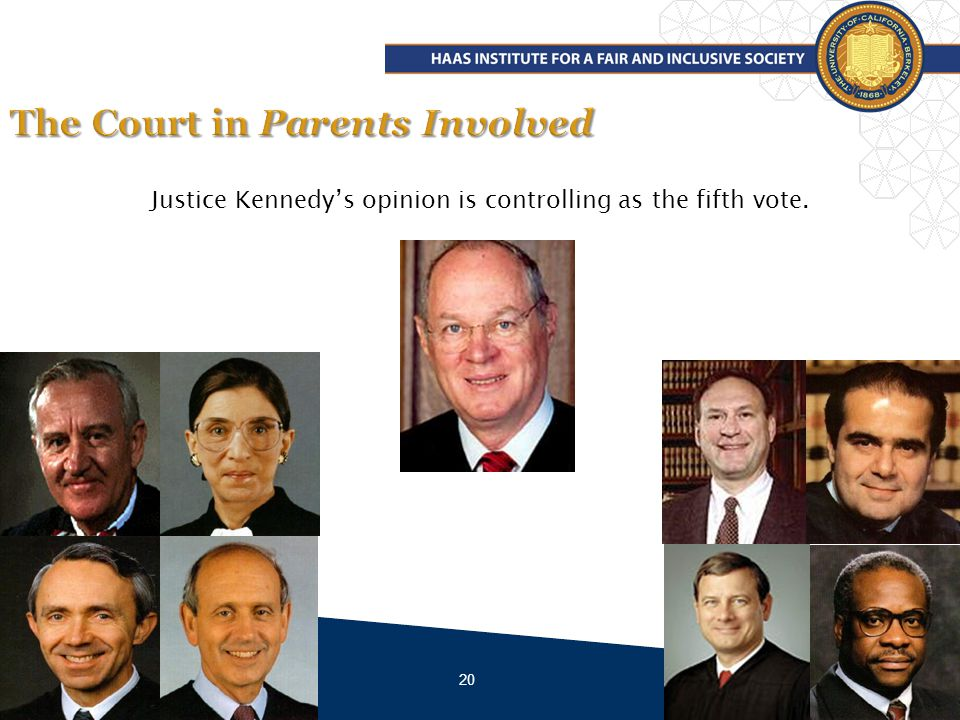 20 Justice Kennedys opinion is controlling as the fifth vote.