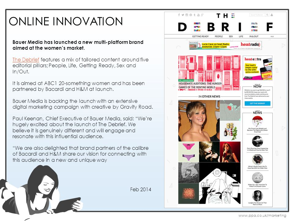 ONLINE INNOVATION Bauer Media has launched a new multi-platform brand aimed at the womens market.