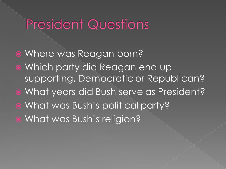 Where was Reagan born. Which party did Reagan end up supporting, Democratic or Republican.