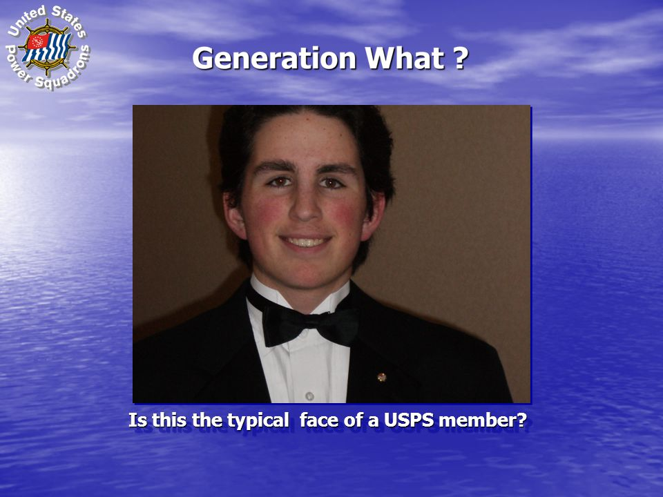 Is this the typical face of a USPS member?