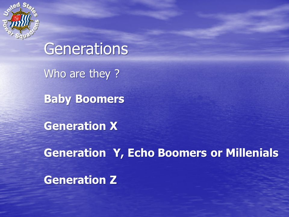 Generation Z Born 1995-2012 Age 2014:10-19 Current population : 23 million and growing Diverse environment High technology use All born after the advent of the internet Future ??