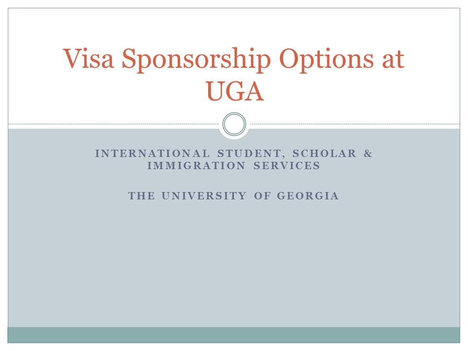 Agenda 1/2/2013 2 Why worry about this.Considerations surrounding Sponsorship Temporary vs.