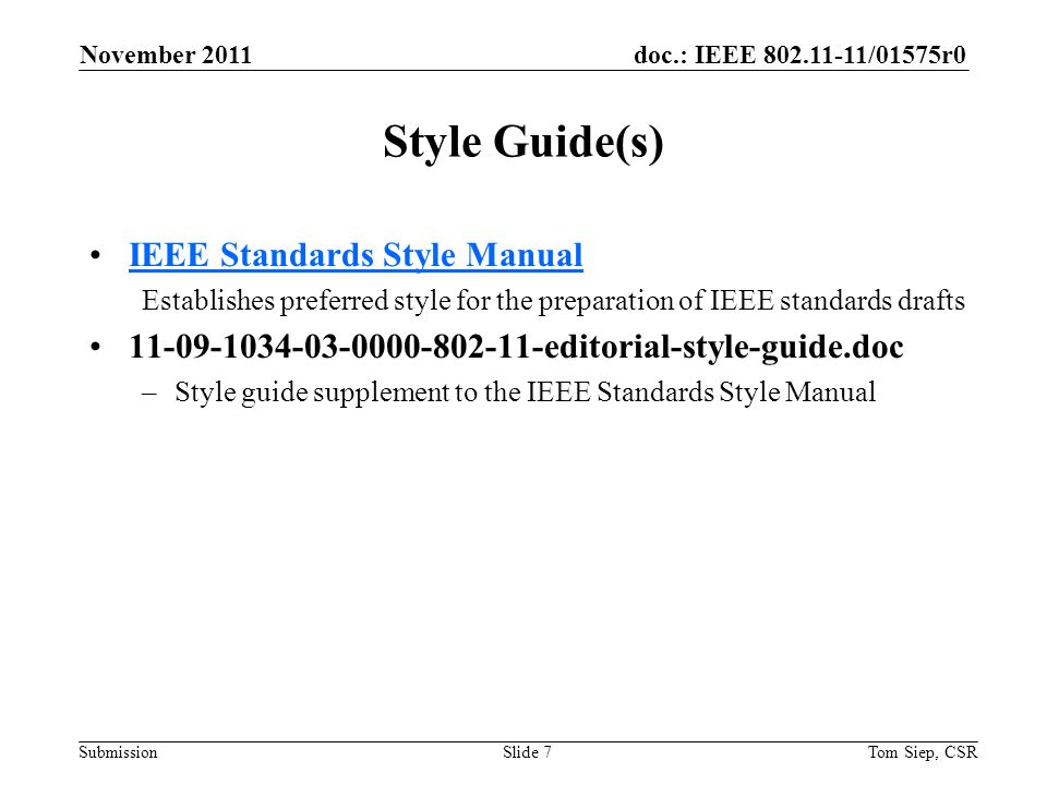 doc.: IEEE 802.11-11/01575r0 Submission 14.