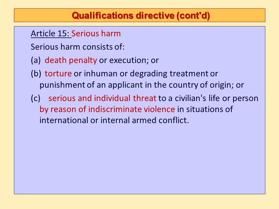 Individualisation ECtHR, NA.v UK, No 25904/07 – Judgment of 17 July 2008 116.