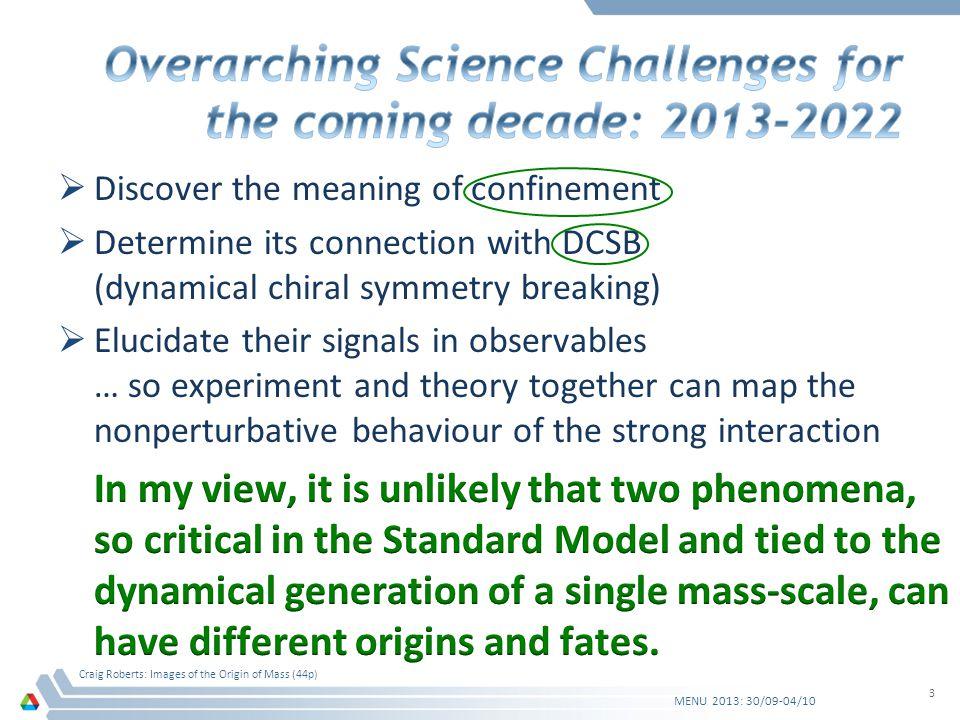 MENU 2013: 30/09-04/10 Craig Roberts: Images of the Origin of Mass (44p) 44