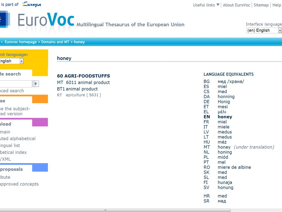 The role of controlled vocabularies today Needed where full text is not available, e.g.