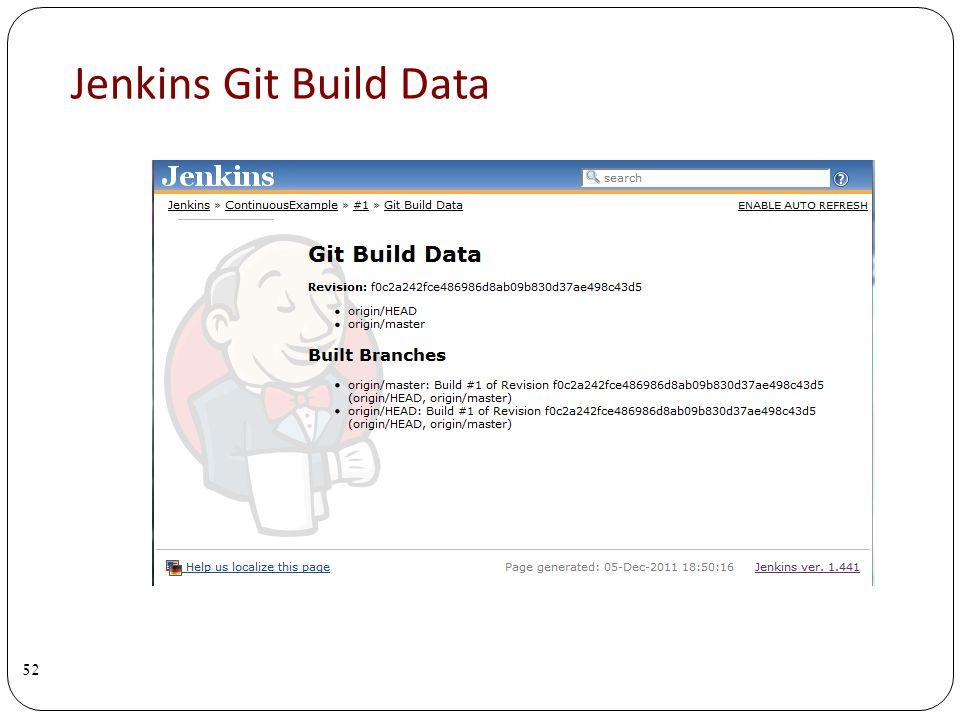 Jenkins Git Build Data 52
