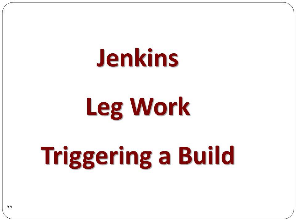 Jenkins Leg Work Triggering a Build 55
