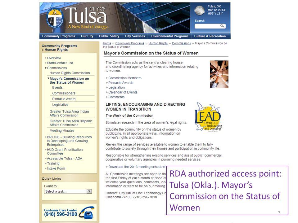 RDA authorized access point: Brazil 8Module 5. Describing Places