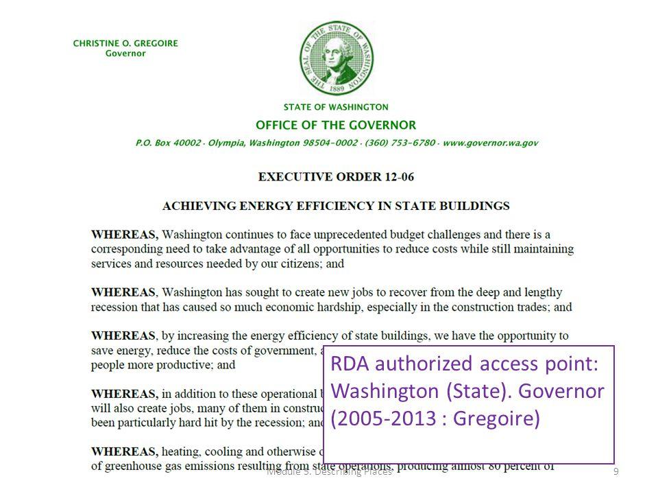 RDA authorized access point: United States. Embassy (Greece) 10