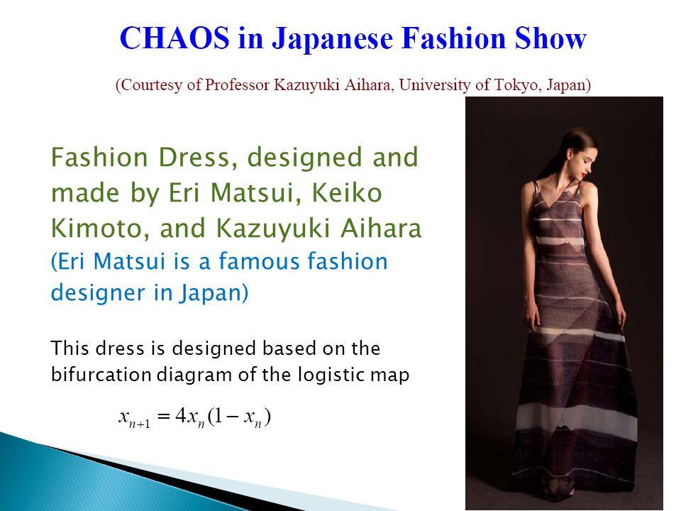 Fashion Dress, designed and made by Eri Matsui, Keiko Kimoto, and Kazuyuki Aihara (Eri Matsui is a famous fashion designer in Japan) This dress is des