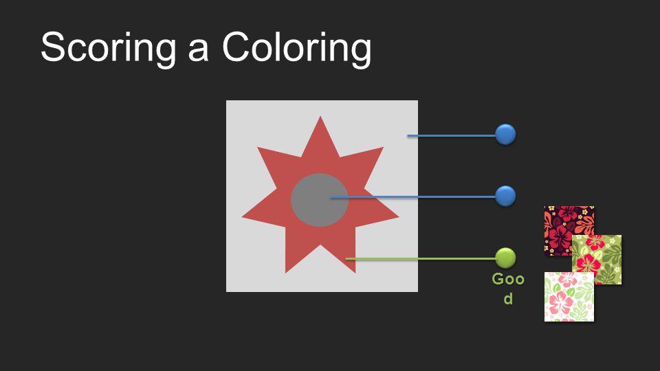 Scoring a Coloring Goo d