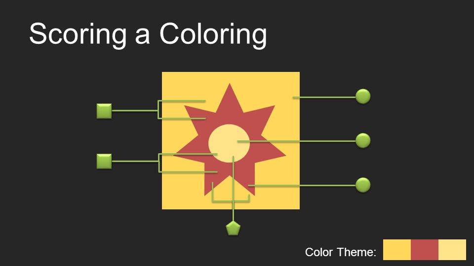 Scoring a Coloring Color Theme: