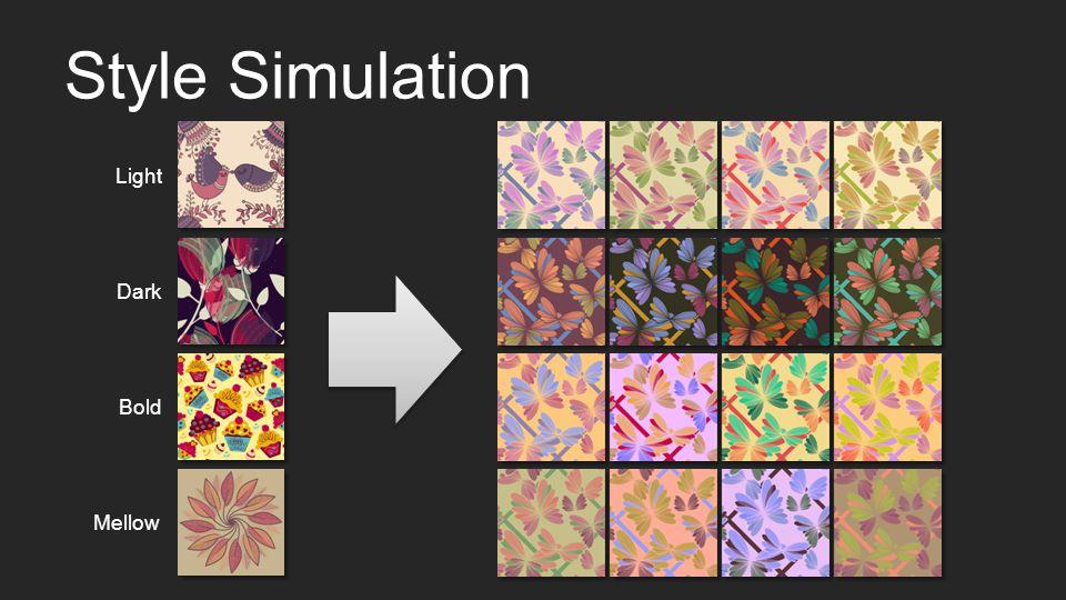 Style Simulation Light DarkBoldMellow