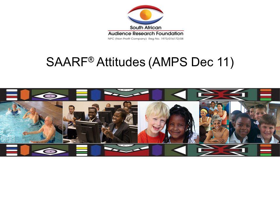 SAARF ® Attitudes (AMPS Dec 11)