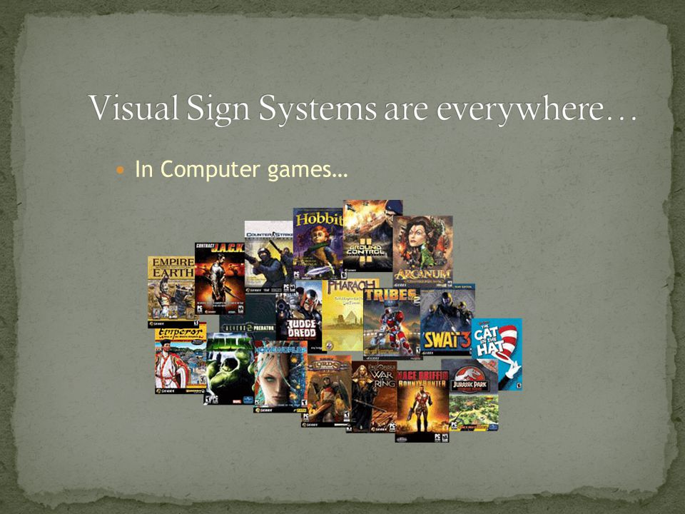 In Computer games…
