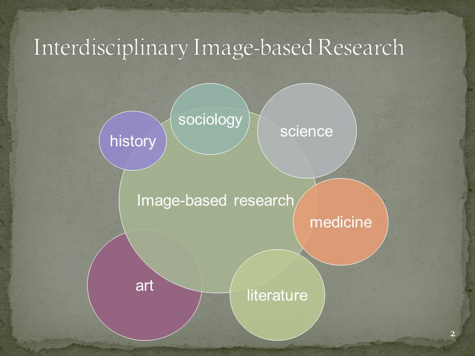 2 art Image-based research literature science history medicine sociology