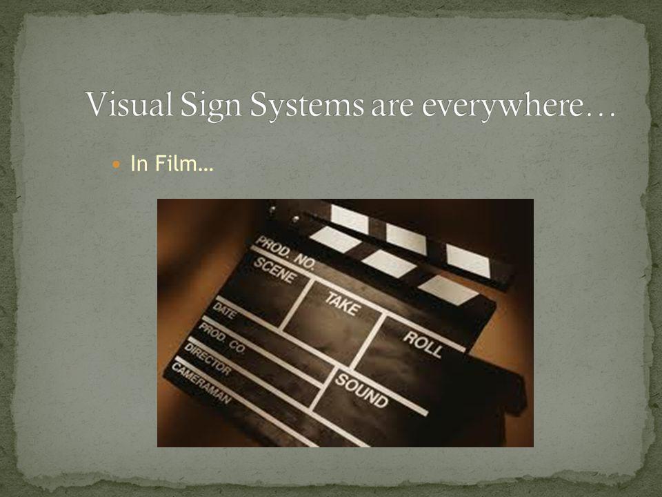 In Film…