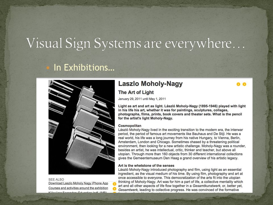 In Exhibitions…