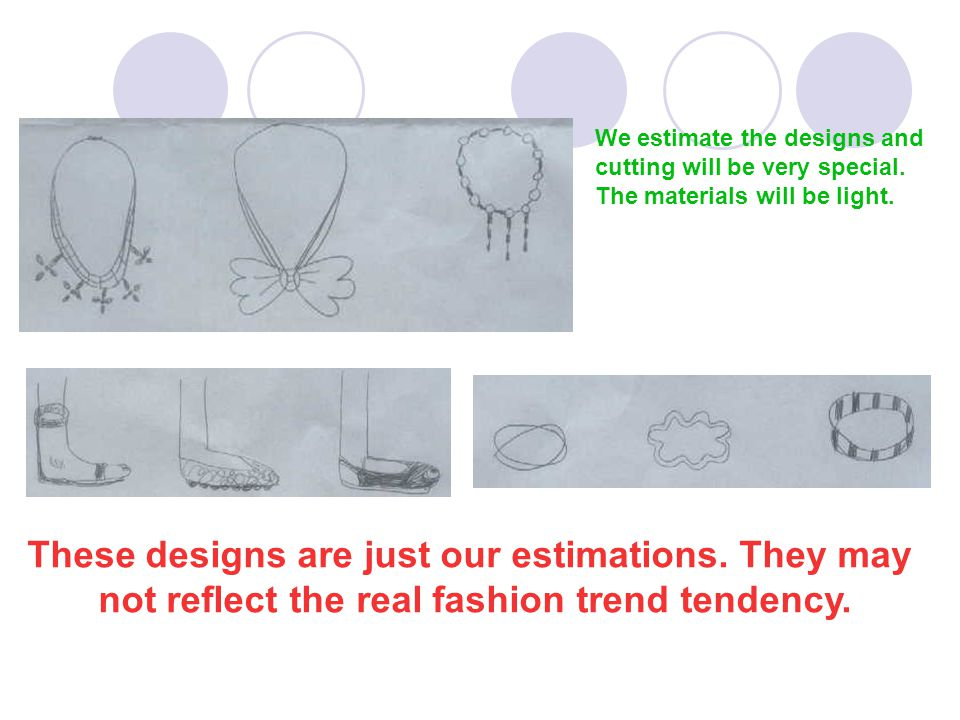 We estimate the designs and cutting will be very special.