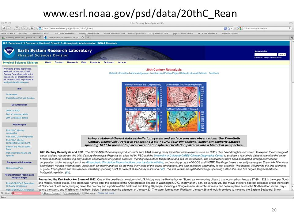 www.esrl.noaa.gov/psd/data/20thC_Rean 20