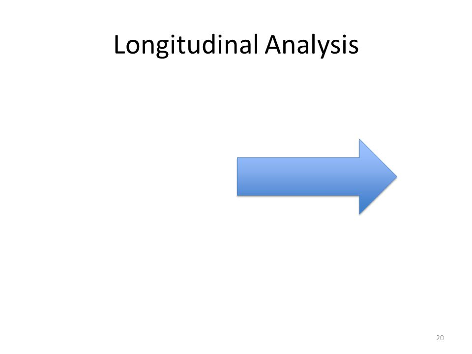 Longitudinal Analysis 20