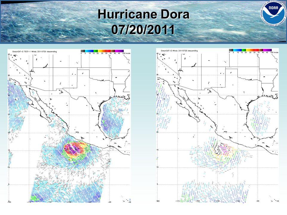 Hurricane Dora 07/20/2011