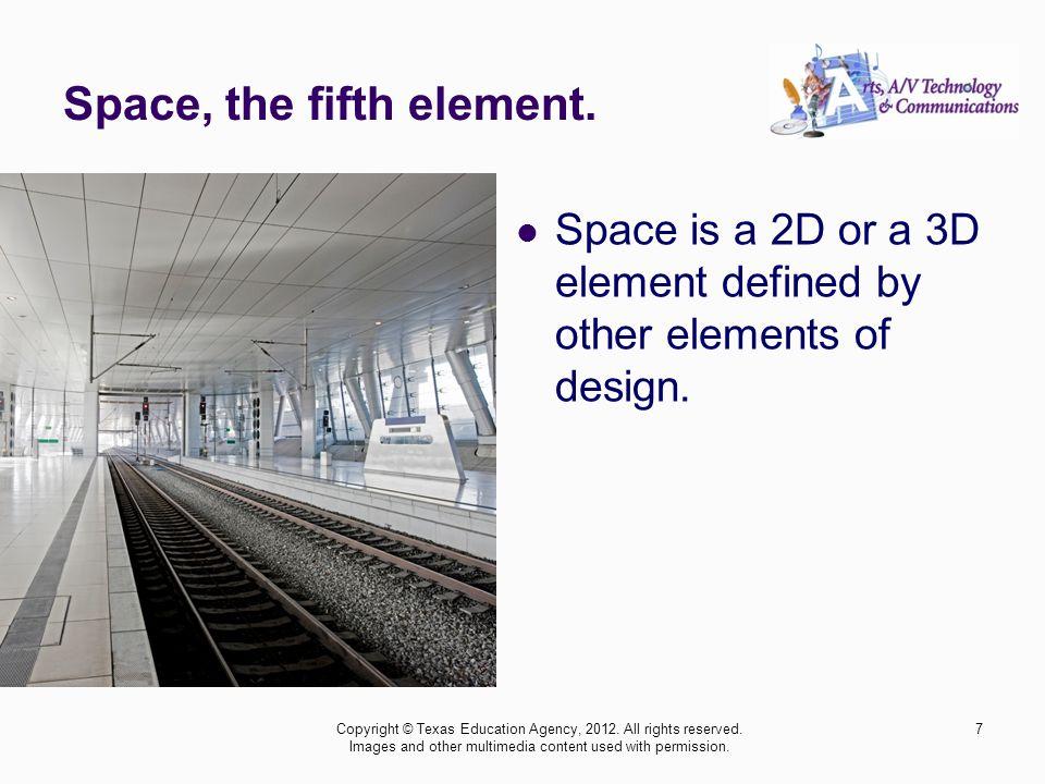 18 The seventh principle of design is rhythm.